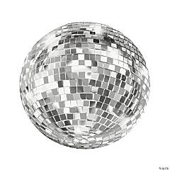 Disco Ball Dessert Paper Plates - 12 Ct.