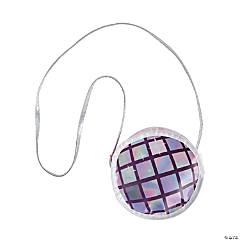 Disco Ball-Shaped Purses