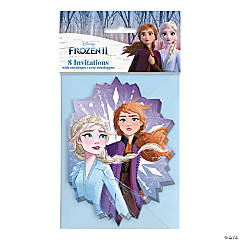 Disney Frozen II Invitations