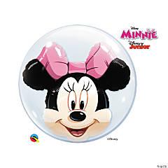 "Disney® Minnie Mouse 24"" Double Bubble Balloon"