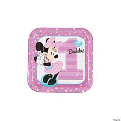 Disney® Minnie's Fun To Be One Dessert Plates