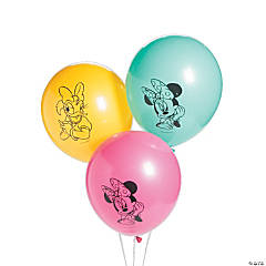 Disney® Minnie's Happy Helpers Latex Balloons