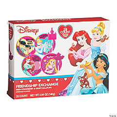 Disney Princess Lollipops with Valentine's Day Cards