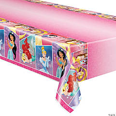 Disney Princess Plastic Tablecloth