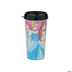Disney Princess Plastic Travel Mugs