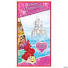 Disney Princess Scented Bookmarks with Valentine's Day Cards