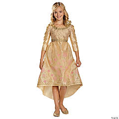 Disney Princess Sleeping Beauty Aurora Coronation Gown Girls Halloween Costume - Medium