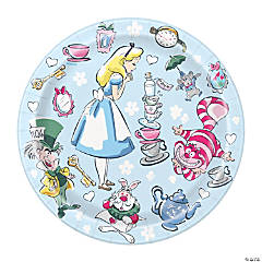 Disney's Alice in Wonderland Paper Dessert Plates - 8 Ct.
