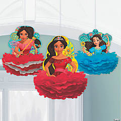 Disney's Elena Fluffy Hanging Decorations