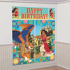 Disney's Elena Giant Backdrop Set