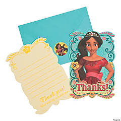 Disney's Elena Thank You Cards