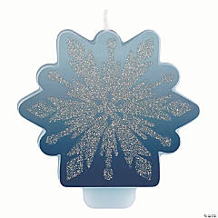 Disney's Frozen II Glitter & Decal Candle