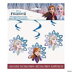 Disney's Frozen II Hanging Swirl Decorations - 3 Pc.