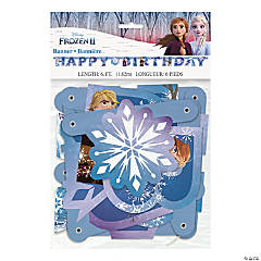 Disney's Frozen II Jointed Birthday Banner