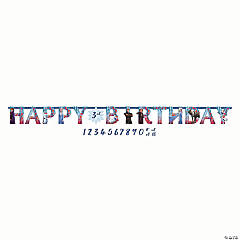Disney's Frozen II Jumbo Add-an-Age Birthday Banner