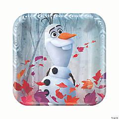 Disney's Frozen II Square Paper Dessert Plates