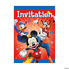 Disney's Mickey Mouse Party Invitations