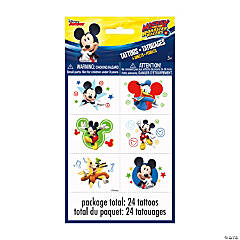 Disney's Mickey Mouse Party Temporary Tattoos