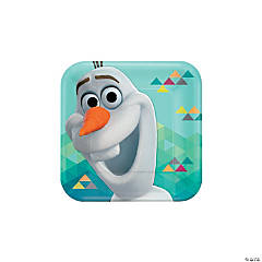 Disney® Frozen Olaf Paper Dinner Plates - 8 Ct.