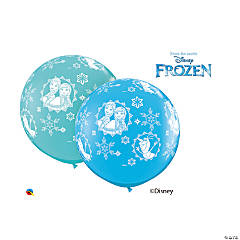 Disney® Frozen Round Latex Balloon Assortment