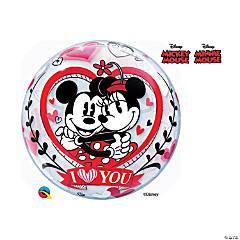 Disney® Mickey & Minnie Love Bubble Mylar Balloon
