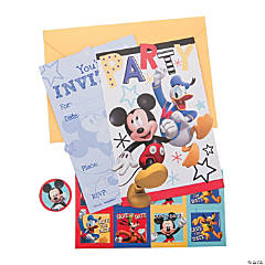 Disney® Mickey on the Go Invitations