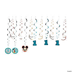 Disney® Mickey's Fun To Be One Hanging Swirl Decorations - 12 Pc.