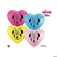 Disney® Minnie Mouse Heart Latex Balloon Assortment