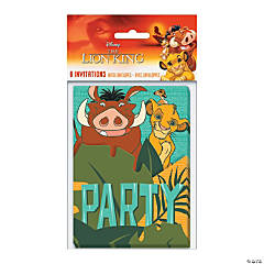 Disney The Lion King Invitations - 8 Pc.