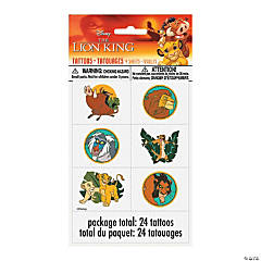 Disney The Lion King Temporary Tattoos