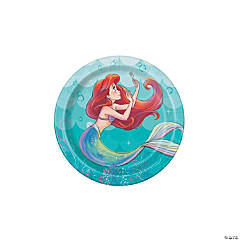 Disney The Little Mermaid™ Ariel Paper Dessert Plates - 8 Ct.