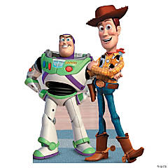 Disney Toy Story™ Buzz And Woody Cardboard Stand-Up