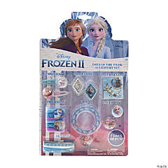 Disney's Frozen II Days of the Week Accessory Set