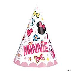 Disney's Minnie Mouse Cone Party Hats
