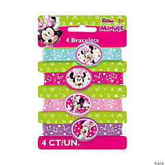 Disney's Minnie Mouse Rubber Bracelets