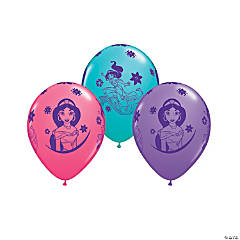 "Disney's Princess Jasmine 11"" Latex Balloon Assortment"