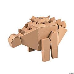 DIY 3D Stegosaurus Dinosaur Stand-Up
