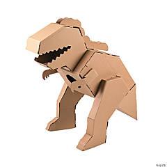 DIY 3D T-Rex Dinosaur Stand-Up