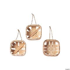 DIY Basket Ornaments