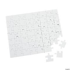"""DIY Cardboard Puzzles - 8"""" x 10"""" (48 puzzles)"""