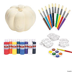 DIY Ceramic Halloween Pumpkin Kit
