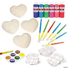 DIY Ceramic Heart Valentine Kit