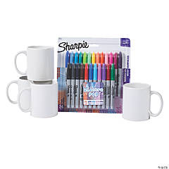 DIY Coffee Mug & Sharpie® Marker Assortment