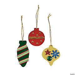 DIY Colorful Christmas Ornaments