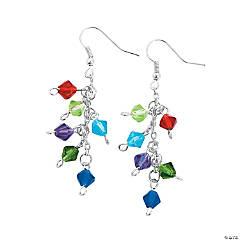 DIY Crystal Bicone Earrings Idea