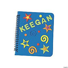 DIY Fabulous Foam Notebooks