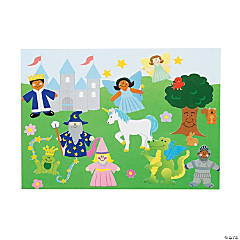 DIY Fairy Tale Sticker Scenes