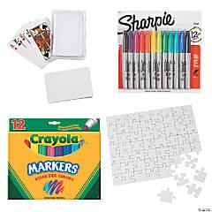 DIY Family Games Boredom Buster Kit
