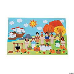 DIY Giant Thanksgiving Sticker Scenes