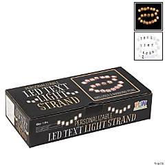 DIY LED Text Chain Light